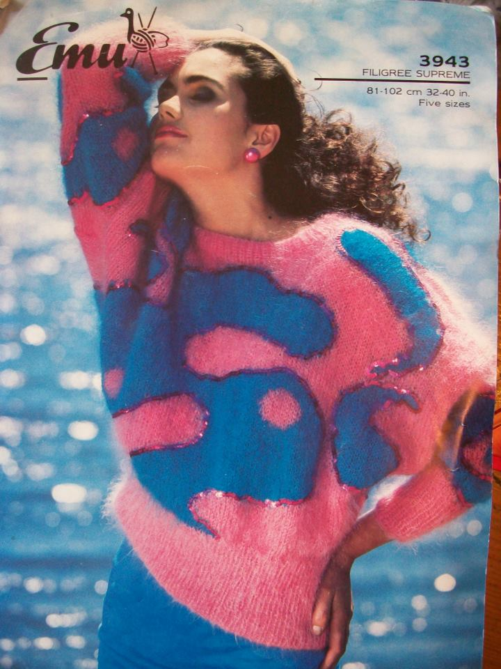 Style Icon of the Day: this woman and her jumper.