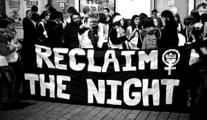 Side note: when I first head the phrase 'reclaim the night', I thought it was the most glamorous and mysterious collection of words in the world.