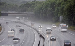 British summertime is a wet motorway on a sad Monday morning